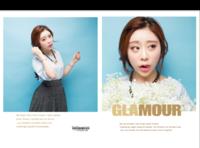 写真模版--GLAMOUR-8x12对裱特种纸22p套装