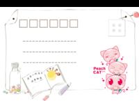 MX29 青春校园 简洁个性 童年成长儿童-18张全景明信片(横款)