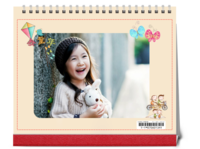 致童年-10寸横款双月单面台历(7页)