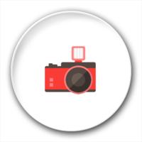 旅行  摄影 照相机-4.4个性徽章