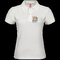 哆啦A梦-女款纯色POLO衫