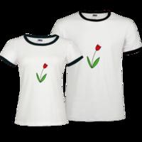 Txue-撞色情侣装纯棉T恤