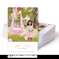 甜蜜宝贝-亲子 爱情 全家福 旅行 闺蜜 婚纱 宝宝成长手册-双面定制扑克牌