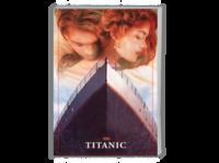 【泰坦尼克号】Titanic经典电影·欧美爱情·贵族·海洋之心の影迷珍藏版-A4时尚杂志册(24p)