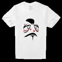 丑八怪舒适白色T恤