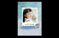 萌妹子(素年韩系甜美氧气贴纸女孩)-8x12印刷单面水晶照片书20p