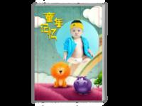 亲子-童年记忆-A4时尚杂志册(24p)