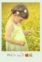 可爱宝贝-我的小天使-定制lomo卡套装(25张)