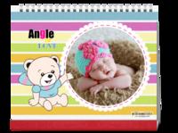 天使之爱 可爱萌娃美美哒 宝贝成长记-10寸双面印刷台历