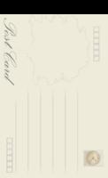欧式复古明信片-长方留白明信片(竖款)套装