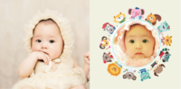 卡通动物乐园 宝贝的童话世界 可爱萌娃成长记-8x8PU照片书NewLife