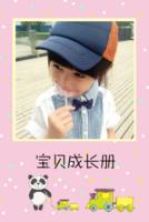 宝贝成长册  儿童 萌娃 照片可换-8x12双面水晶银盐照片书20p