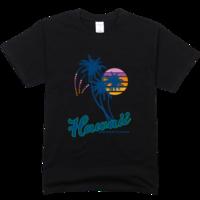 椰树舒适彩色T恤