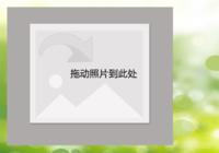 【绿色心情】-彩边拍立得横款(6张P)