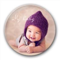 my baby 我的宝贝 萌宝可爱娃-5.8个性徽章