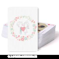 爱情-双面定制扑克牌
