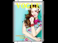 个人时尚杂志写真集-A4时尚杂志册(24p)