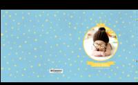 我家的小天使-小小的你是最闪亮的星-方8寸硬壳精装照片书