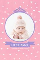 小小天使-可爱小白兔-8x12双面水晶印刷照片书30p