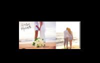 因为喜欢、所以甘愿—情侣、婚纱、爱情(装饰可移动、图片可换)-情侣骨瓷白杯