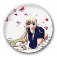 可爱 个性 徽章/天使心/小叽 可爱卡通少女