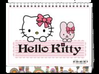 HELL KITTY-8寸单面印刷台历