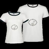 【时光轴】游走的岁月の轻复古治愈小园丁植物-撞色情侣装纯棉T恤