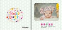 儿童亲子宝宝-8x8轻装文艺照片书40p