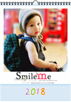 微笑瞬间 最新韩式儿童模板 yyyr萌宝童年记忆-A3双月挂历