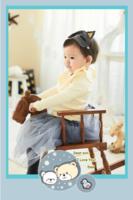 可爱的小熊-12寸竖式海报