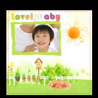 lovebaby-6x6骑马钉画册