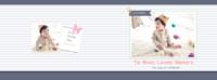 韩式爱的记忆童年时光故事 happy day3 Mar2-8x12横款杂志册42p