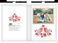 【钟爱恋曲】情侣·婚宴·婚纱照·纪念日-硬壳精装照片书20p