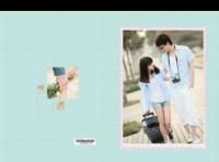 相遇相恋(封面封底图片可替换)-8x12对裱特种纸30p套装