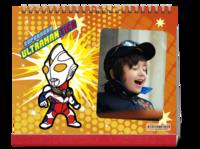 奥特曼超人卡通动漫亲子宝宝红色喜庆-10寸单面印刷台历