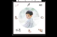 可爱萌宝的毕业纪念册#-8x8单面银盐水晶照片书21p