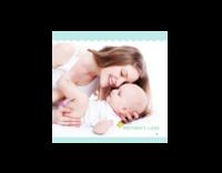 妈妈的love 爱的礼物 亲子宝贝成长纪念816452-绒面单面抱枕
