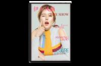 时尚杂志写真-8x12单面银盐水晶照片书