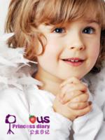 公主日记(图片可换)女宝宝女生专用-16寸竖式海报