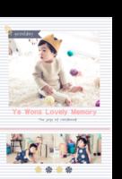 韩式爱的记忆童年时光故事 happy day2 mar7-印刷胶装杂志册26p(如影随形系列)