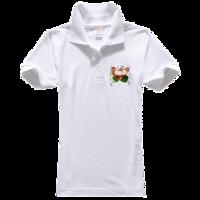 亲子 户外-女款纯色POLO衫