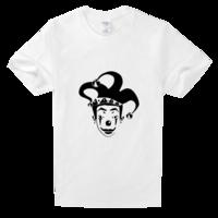 我说,小丑先森舒适白色T恤