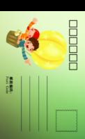 幸福宝贝-全景明信片(竖款)套装