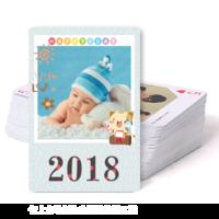 2018快乐每一天-双面定制扑克牌