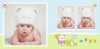 宝宝的幸福生活 可爱宝贝成长留念 快乐的日子 欢乐童年-8x8PU照片书NewLife