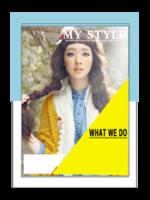 我的风格(封面封底图片替换)-A4杂志册(36P)