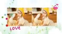 love 简洁 温馨 生活写真 图文可替换-横款抽取式台历
