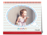 宝贝的成长故事(封面图片可替换)-10寸双面印刷台历