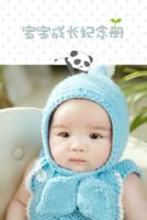 宝宝成长纪念册-8x12双面水晶银盐照片书20p