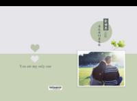 全世界我们最绝配--爱情 恋爱 情侣 热恋时代-8x12对裱特种纸22p套装